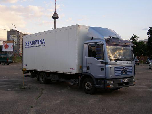 Sunkvežimių, vilkikų reklaminis apipavidalinimas