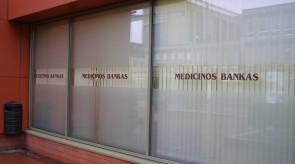 Medicinos banko KAS VCUP III a. vitrina