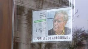 """Renginio """"Popietė su autoriumi"""" plakatai"""