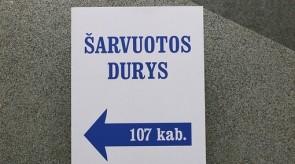 Informacinis stovas Šarvuotos durys