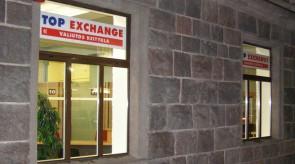 Top Exchange vitrina